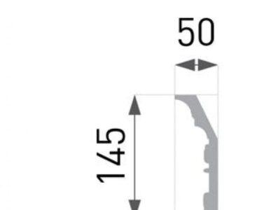 B-49 Profillist mønster 50x145mm