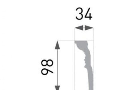 B-52 Profillist mønster 34x98mm.