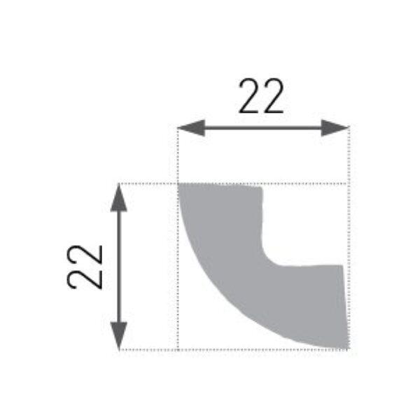 E-01 Taklist 20x20mm.