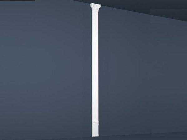 Flat søyle  PL-01  210x3000x65mm. Billigkroken