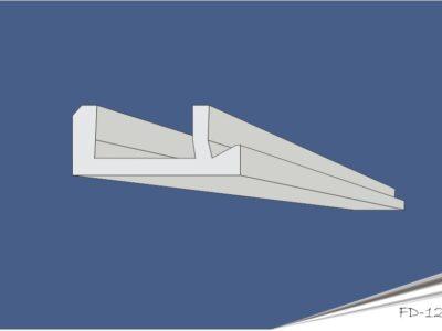 Downlight list og LED-lyslist, FD-12 /79x189mm/ produksjonsfeil